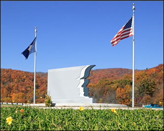 The Worker's Memorial is on Afton's Mountain off Interstate 64.