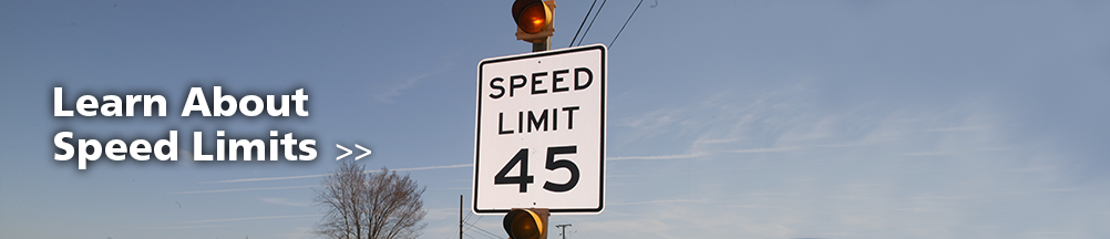 Learn about speed limits