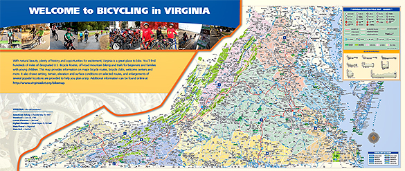 Bicycling in Virginia