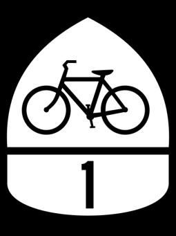 USBR 1 Route Shield