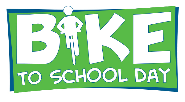 National Bike to School Day logo